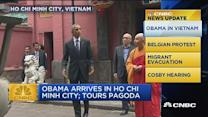 CNBC update: Obama in Vietnam
