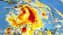 Isaac strengthening in Atlantic, Tampa readies