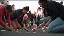 Friends And Family Hold Vigil For Missing Teen