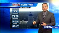 Northern California afternoon forecast 11.7.12