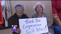 Councilman Peters To Give Pay To Senior Center