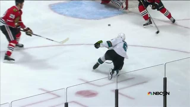 Demers beats Crawford on a one-timer