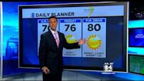 WBZ AccuWeather forecast for August 28th