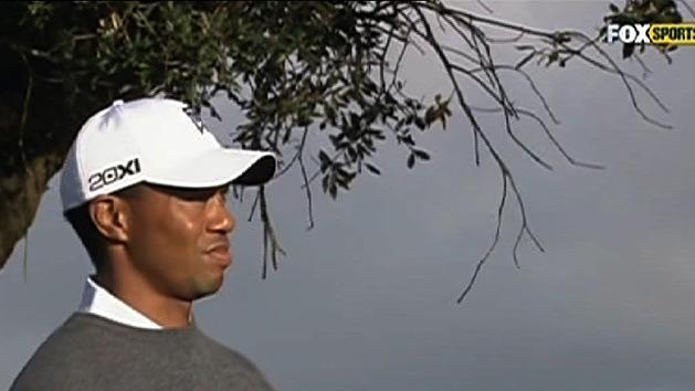 Woods heading towards title