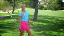 The Sexiest Shots in Golf - Blair O'Neal Shows You How to Curve It Around a Tree