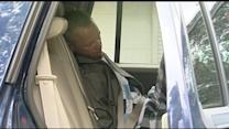 Burglar takes nap in patrol car