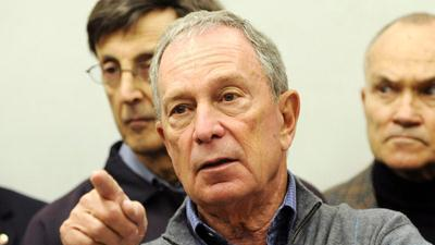 New York Mayor Bloomberg endorses Obama