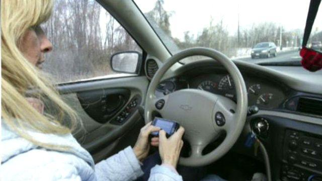 Surprising study on texting while driving