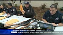 "Local group sponsors ""Gifts Cards for Guns"" exchange"