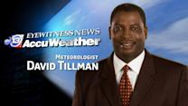 David Tillman's Sunday weather forecast