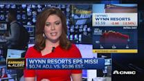 Wynn Resorts misses on top & bottom line