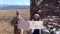 Holiday card goes viral on Facebook military post
