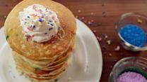 Funfetti Pancakes Worth Waking Up For . . .