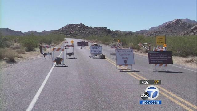 Gov't shutdown: 400+ national parks affected