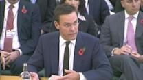 James Murdoch testifies