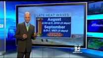 WBZ AccuWeather Forecast On Sunday August 31, 2014.