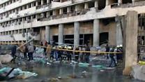 Deadly explosions rock Cairo on eve of uprising anniversary