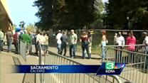 Ammo attracts long lines at Sacramento gun show