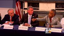 Mayor De Blasio Catches Heat For Round Table Discussion With Rev. Sharpton