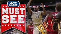 Pitt's Lamar Patterson Fake Pass And Hoop | ACC Must See Moment