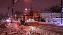 Winter storm: Thousands without power, salt supplied stretched