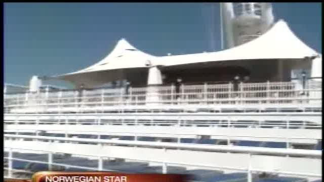 New cruise ship arrives in Tampa