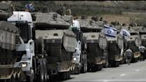 Israel Launches a Missile Barrage