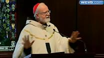 Cardinal O'Malley offers Mass for outgoing Pope
