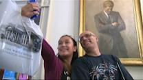 Tourists Snap Selfies in White House for First Time Ever