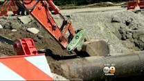 LADWP: Sunset Boulevard To Be Open Late Friday, Early Saturday Following Water Main Break