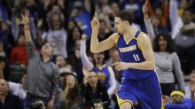 Thompson's second half sparks Warriors past Grizzlies 106-94