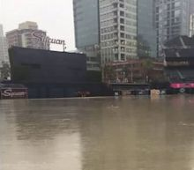 Petco Park is completely flooded and the photos are wild