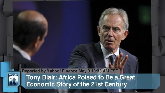 Europe News - Tony Blair, Google Inc, RBS