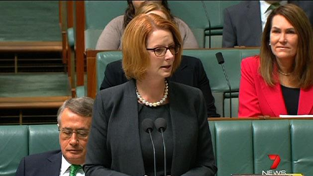 Gillard breaks down during NDIS speech