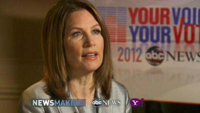 Newsmakers: Michele Bachmann ABC News/Yahoo Interview
