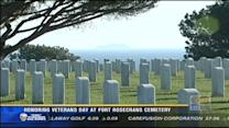 Honoring Veterans Day at Fort Rosecrans Cemetery