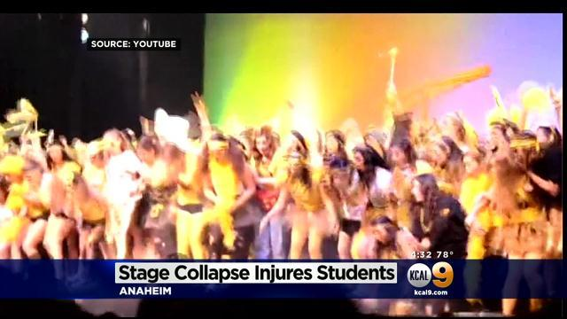 Inspectors Investigate Collapsed Stage At Servite High School