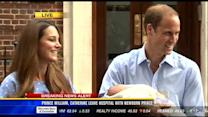 William, Kate, show off newborn royal baby boy