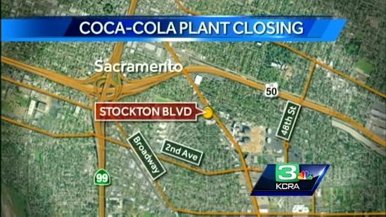 Workers hit hard by Coke plant closing