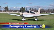 Plane makes emergency landing in Southwest Fresno