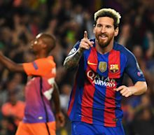 Messi hat trick powers Barcelona to Champions League rout of Guardiola's Man City