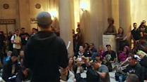 20-30 cited after CCSF protest at SF City Hall