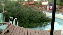 Severe Weather Does Damage In Inland Empire