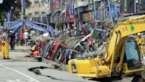 Gas Explosions in Taiwan Kill Dozens