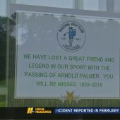 Golfers at Wake Forest course remember Arnold Palmer