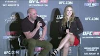 Fight Night Macao: Dana White and Ronda Rousey Q&A