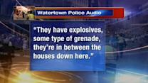 Watertown firefight heard on police scanners
