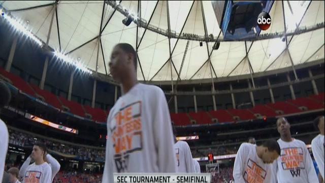03/15/2014 Tennessee vs Florida Men's Basketball Highlights
