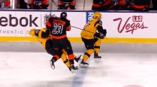 Flyers' Brandon Manning faces suspension for hit to the head on Penguins player