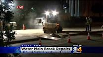 Colorado Blvd. Water Main Break Repairs Set To Be Completed By Friday Morning Commute